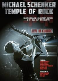 "Michael Schenker's ""Temple of Rock: Live in Europe"" to Be Released 12/3"
