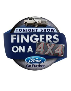 NBCUniversal and Ford Announce TONIGHT SHOW FINGERS ON A 4X4 Contest, 3/31
