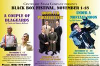 Centenary Stage Company Presents 2nd Annual Black Box Festival, 11/1-18