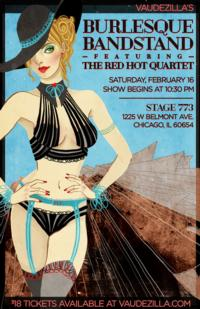 Vaudezilla to Present BURLESQUE BANDSTAND at Stage 773, 2/16