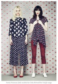 Uniqlo Teams Up with Celia Birtwell