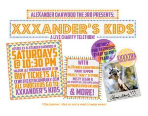 Echo Theater Company to Present XXXANDER'S KIDS!, 3/1-15