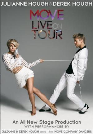 Julianne & Derek Hough Will Bring MOVE LIVE ON TOUR to Van Wezel, 6/15