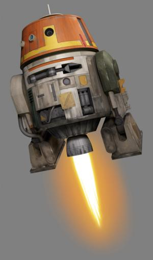 STAR WARS REBELS Animated Series Unveils New Droid 'Chopper'