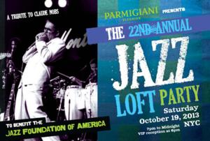 2013 JAZZ LOFT PARTY to Benefit Jazz Foundation of America, 10/19