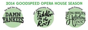 DAMN YANKEES with a Red Sox Twist, FIDDLER ON THE ROOF & HOLIDAY INN World Premiere  Set for Goodspeed's 2014 Season