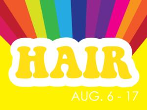 Imagine Productions Presents HAIR, 8/6-17