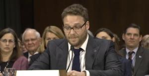 Seth Rogen Speaks in Front of Senate Committee for Alzheimer's Awareness