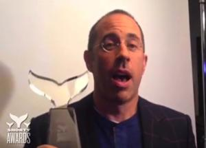 Jerry Seinfeld Among Winners of 6th Annual SHORTY AWARDS; Full List Announced
