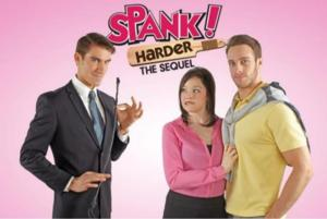 SPANK! HARDER THE MUSICAL Set for Orpheum Theater, 6/6-7