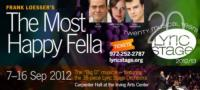 THE MOST HAPPY FELLA Opens Lyric Stage's 20th Anniversary Season Tonight, 9/7