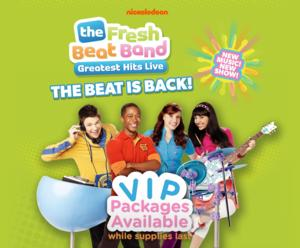 Nickelodeon's The Fresh Beat Band Returns to the Fox Theatre with GREATEST HITS LIVE TOUR on 11/15