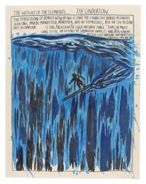 Venus Over Manhattan Presents ARE YOUR MOTIVES PURE? RAYMOND PETTIBON SURFERS 1987-2012, Now thru 5/17