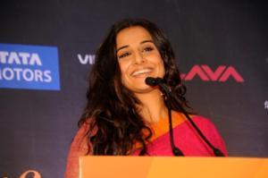 Indian Cinema Star Vidya Balan Joins U.S. Promotional Tour