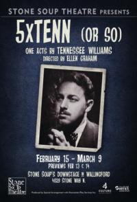 Stone Soup Theatre to Present 5XTENN (OR SO), 2/15-3/9
