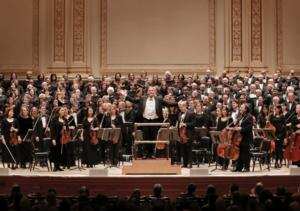 New York Choral Society to Perform with The Detroit Symphony, 9/22