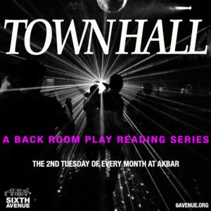 Sixth Avenue's Town Hall Reading Series Continues 9/9 with PARTNERS