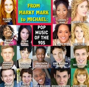 Caissie Levy, Nic Rouleau, Amber Iman and More Set for FROM MARKY MARK TO MICHAEL at 54 Below Tonight