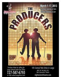 Eight O'Clock Theatre to Stage THE PRODUCERS, 3/1-17