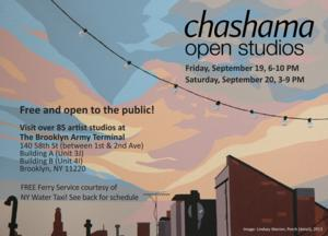 Chashama Open Studios to Open at the Brooklyn Army Terminal, 9/19-20