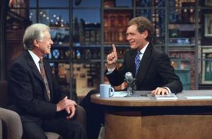 President Jimmy Carter to Visit CBS's DAVID LETTERMAN, 3/24