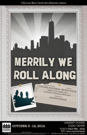 CSULB's Theatre Department to Present MERRILY WE ROLL ALONG, 10/3-12