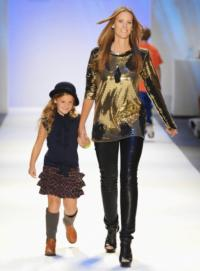 Moms Rock the Runway at New York Fashion Week