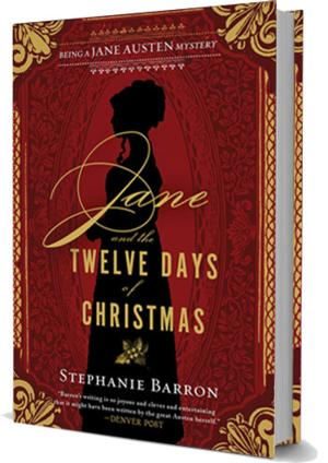 Soho Press Presents JANE AND THE TWELVE DAYS OF CHRISTMAS by Stephanie Barron