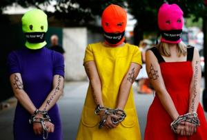 Members of Pussy Riot Launch Independent News Service in Russia