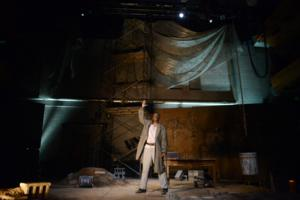 BWW Reviews: AN ILIAD Deconstructs War, Mythology at the Pittsburgh Public Theater