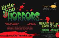 Bayou City Theatrics to Stage LITTLE SHOP OF HORRORS, 2/22-3/3