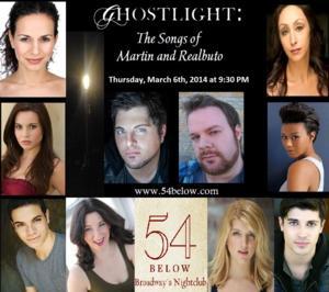 Mandy Gonzalez, Jason Gotay & More Set for GHOSTLIGHT Concert at 54 Below, 3/6