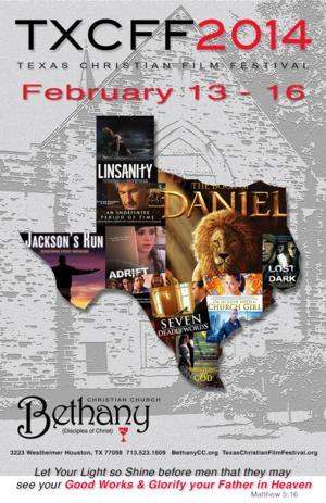 Houston's Bethany Christian Church to Host 2014 Texas Christian Film Festival, 2/13-16