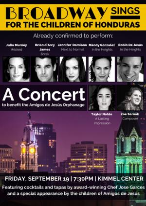 Murney, Gonzalez & More Set for Benefit Concert at Kimmel Center, 9/19