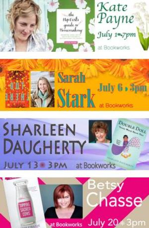 This July at Bookworks Includes Kate Payne, Sarah Stark and More