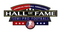 AFA Announces Semi-Pro/Minor League Football Hall of Fame 'Class of 2013'