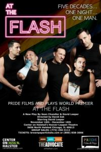 Pride Films and Plays Presents AT THE FLASH World Premiere, 11/16-12/16