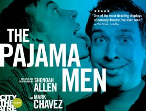 City Theatre Welcomes The Pajama Men for JUST THE TWO OF US, Now thru 9/7