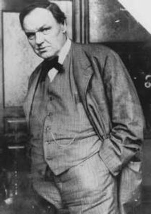 76th Anniversary of Clarence Darrow's Death Marked Today by Professor and Author Robert Burns
