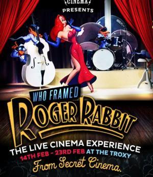 Future Cinema Screens WHO FRAMED ROGER RABBIT, Now thru 2/23