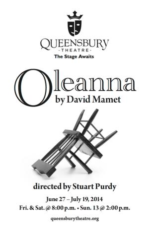 BWW Interviews: Queensbury Theatre (Country Playhouse) Cast and Creatives Talk OLEANNA