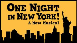 BWW Reviews: New Musical, ONE NIGHT IN NEW YORK, Debuts at Capital Fringe