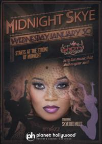 MIDNIGHT SKYE Debuts at Planet Hollywood's Sin City Theatre Tonight