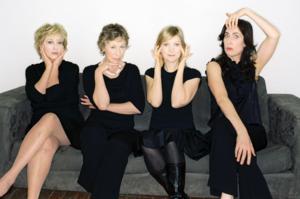 WOMEN FULLY CLOTHED Returning to Thousand Oaks Civic Arts Plaza, 4/12