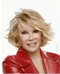 Omaha Performing Arts Presents AN EVENING WITH JOAN RIVERS Tonight