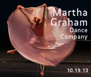 Martha Graham Dance Company to Perform at Purchase College's Performing Arts Center, 10/19