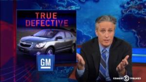 John Stewart Calls Out GM for Ignition Switch Recall