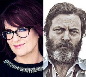 92Y Will Stream Talk with Megan Mullally & Nick Offerman Online, 4/7