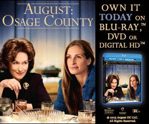 AUGUST: OSAGE COUNTY Available on Blu-ray/DVD Today