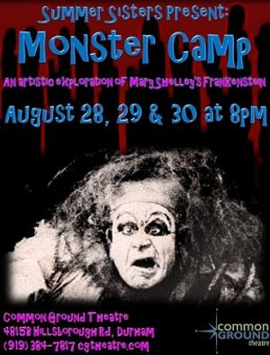 Summer Sisters to Stage MONSTER CAMP at Common Ground, 8/28-30